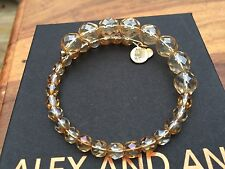 ALEX and ANI VINTAGE 66 EUPHORIA COLLECTION Champagne MELODY Beaded WRAP