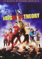 Sit - Com THE BIG BANG THEORY - La quinta stagione completa (3 Dvd)
