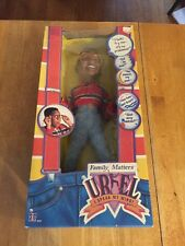 Family Matters Talking Steve Urkel Doll I Speak My Mind 1991 Hasbro Sealed