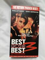 Best of the Best 3: No Turning Back (VHS 1996) (OOP) outofprint RARE SCREENER
