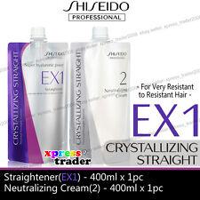 Shiseido Perm Neutralizer Cream Straight Ex1 Very Resistant to Resistant Hair