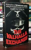 Patterson, Harry (Jack Higgins) THE VALHALLA EXCHANGE  1st Edition 6th Printing