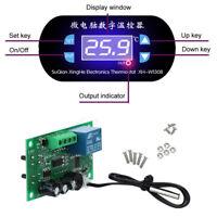 Blue LED W1308 12V Digital Thermostat Temperature Alarm Controller Sensor Meter