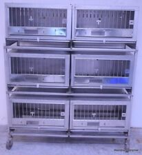 WAHMANN CAGES STAINLESS STEEL ANIMAL CAGE