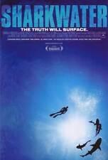 SHARKWATER Movie POSTER 27x40 Rob Stewart Patrick Moore Erich Ritter Paul Watson
