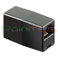 Adattatore per prolunga cavo di RETE Ethernet RJ45 Lan plug 8/8 switch pc router