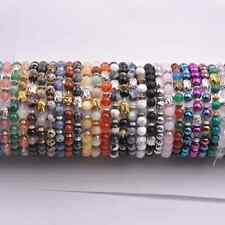 Wholesale Natural Gemstone 8MM Round Beads  Buddha Head Stretchy Bracelets
