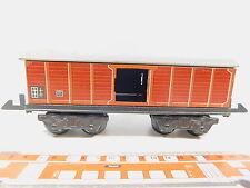 AR885-1# alter  Spur 0 Blech-Güterwagen 4-achsig/ gedeckt  - Made in Germany
