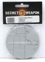 Secret Weapon BFS8001 80mm Flagstone (Beveled Edge) Round Base Stone Path Walk