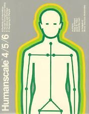 Humanscale 4/5/6, Bardagjy, Joan, Tilley, Alvin R., Diffrient, Niels, Good Condi