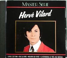 "HERVE VILARD - CD ""MASTER SERIE"" - RARE PREMIERE POCHETTE"