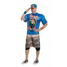 Disguise WWE John Cena Blue R.E.I. Muscle Adult Mens Halloween Costume 67924