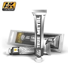 AK Interactive 450 True Metal: Gold 20ml Tube Acrylic Hobby Paint