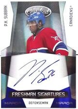 wOw! /100 PK P.K. SUBBAN ROOKIE BLUE MIRROR SIGNATURE CERTIFIED AUTO 2010 10 11