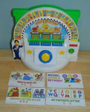 Vintage Fisher Price Sesame Street Guy Smiley What's My Letter Electronic Game