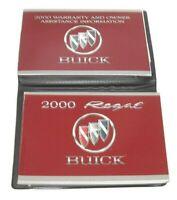 2000 Buick Regal Factory Original Owners Manual Portfolio #5