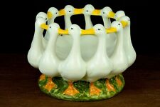 Bellini Italian Ring of Geese bowl Easter center piece