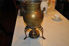 Antique Kerosene Oil Burner Heater Base Mini Samovar Brass