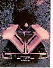 1969 DE TOMASO MANGUSTA 302/230 HP ~ ORIGINAL 5-PAGE ROAD TEST / ARTICLE / AD