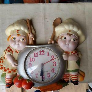 Campbell Soup Kids Wall Clock Quartz 3D Kitchen Vintage Burwood