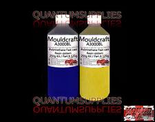 MOULDCRAFT A3000BL 250g BLUE FAST CAST Polyurethane Liquid Plastic casting Resin