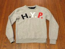 Zara Man H.Y.P. Harvard Yale Princeton Big Three College Grey Sweatshirt sz M