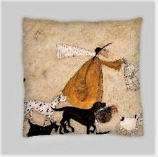 Sam Toft estilo Mezcla De Lino Doble Cara Cushion Covers 18X18