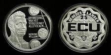 Neth. 25 ECU 1992 PROOF Willem I - .925 Ag, 25 gr. mintage 1507 - EDGE LETTERING