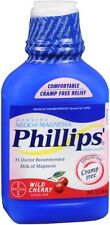 Phillips' Milk of Magnesia Wild Cherry 26 oz (Pack of 8)