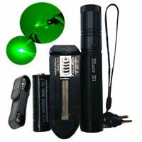 50 M Professionelle Grün 532NM Laser Pointer Pen Lazer Brennen Strahl Batte V1B1