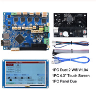 "Duet 2 Wifi V1.04 Cloned 32 Bit Board With 4.3"" PanelDue Touch Screen Controller"