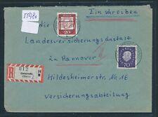 "55980) AKZ RZ Osterode (Harz) mit viol. ""2"" + PGZ-K2 auf Reco-Brief 1961"