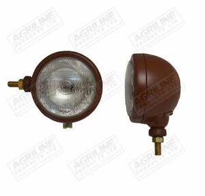 Head Light Brown Side Mounting Dexta, Major, Power Major 6200 New