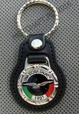 UNA Storia Moto Guzzi Portachiavi ring chain holder keyring keychain keyholder