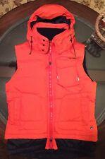 Ralph Lauren RLX Removable Hood Rescue Vest Orange Sz Medium Brand New
