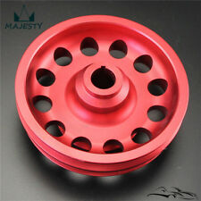 For 96-00 Civic D16 SOHC JDM Aluminum lightened OE Crank Pulley Balancer