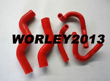 Red silicone radiator heater hose for Rodeo TF 2.8L Turbo Diesel 1998-2003
