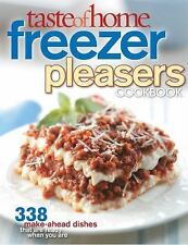 Taste of Home: Freezer Pleasers Cookbook-ExLibrary