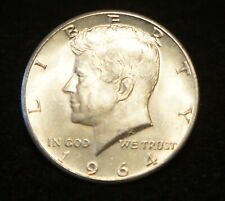1964 Kennedy SILVER Half in UNC Condition Extremely Nice Collection Filler!