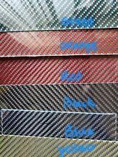 "12""×12""×1/4"" 2x2 Twill Carbon Fiber Fiberglass Plate Panel GLOSSY BOTH SIDES"