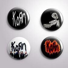 4 KORN - Pinbacks Badge Button Pin 25mm 1''