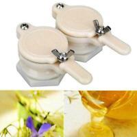 Bee Honey Tap Gate Valve Beekeeping Plastic Extractor Equipment Tools Bottl  NEW