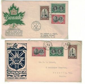 ROYAL VISIT, coll of covers (19) 1939, 1951 & 1973 visit,