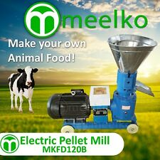 ELECTRIC PELLET MILL FOR COW FOOD - MKFD120B (FREE SHIPPING)