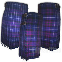 "SCOTTISH PRIDE OF SCOTLAND TARTAN KILT TRADIONAL HIGHLAND DRESS FROM 30"" TO 48"""