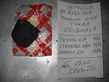 APRILIA FANALINO LUCE TARGA ORIGINALE PEGASO LEONARDO AP8124367