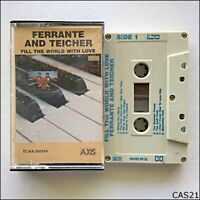 Ferrante And Teicher - Fill The World With Love Tape Cassette (C21)