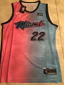 Jersey de Jimmy Butler de Las Mujeres de los Hombres Miami Heat 21 Temporada Nuevo New Adult Baloncesto Jerseys Unisex Swingman T-Shirt Top