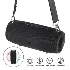 40W Tragbarer Wireless Bluetooth Lautsprecher Stereo Subwoofer SD FM Musicbox