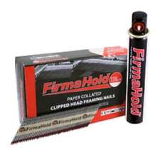Firmahold 90mm First Fix Galv Nails Plain Shank Box 1100 1 Fuel Cell CFGR90G